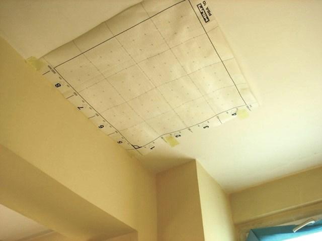 Skanowanie stropu